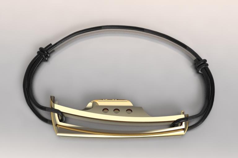 bracelet pinasse or 750/1000 poids 2.95gr