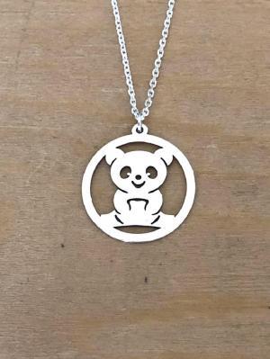 Collier en Argent 925 - 1 Panda