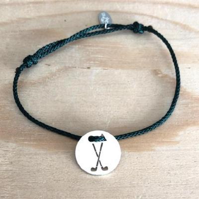 Token's - Bracelet cordon - 2 Clubs