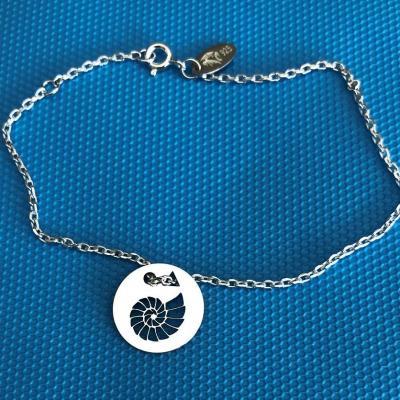 Token's - Bracelet chaine - Ammonite