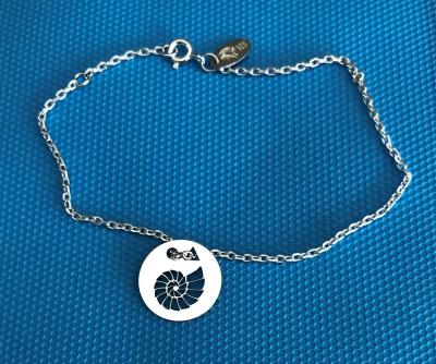 Token's - Bracelet chaine - Ammonite