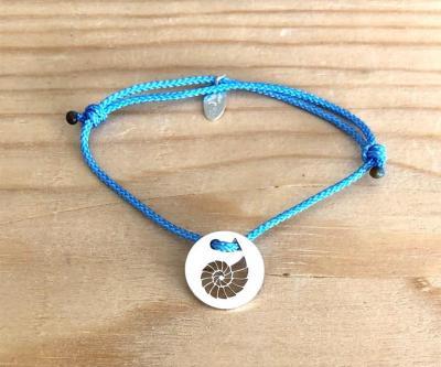 Token's - Bracelet Cordon - Ammonite