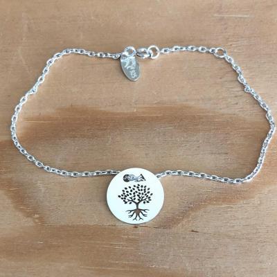 Token's - Bracelet chaine - Arbre de Vie Racine