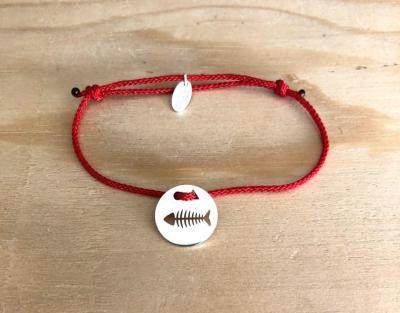 Token's - Bracelet Cordon - Arête de poisson