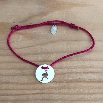 Token's - Bracelet cordon - Autruche