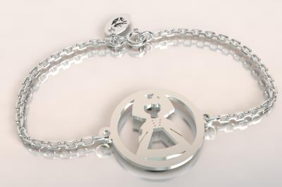 Bracelet chaine argent 925/1000 alsacienne  poids 1.8gr