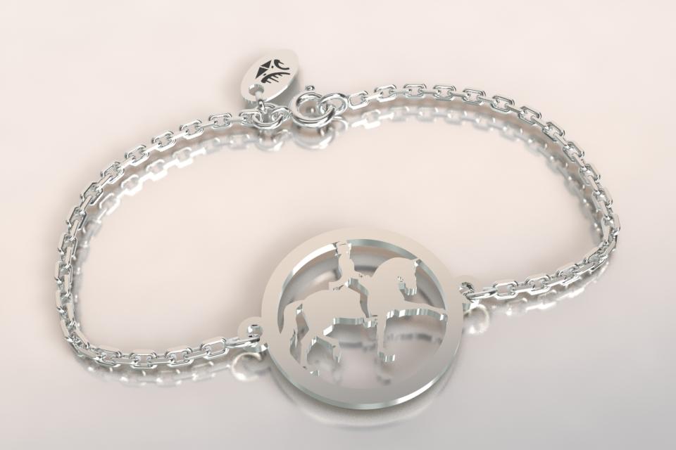 Bracelet cheval dressage