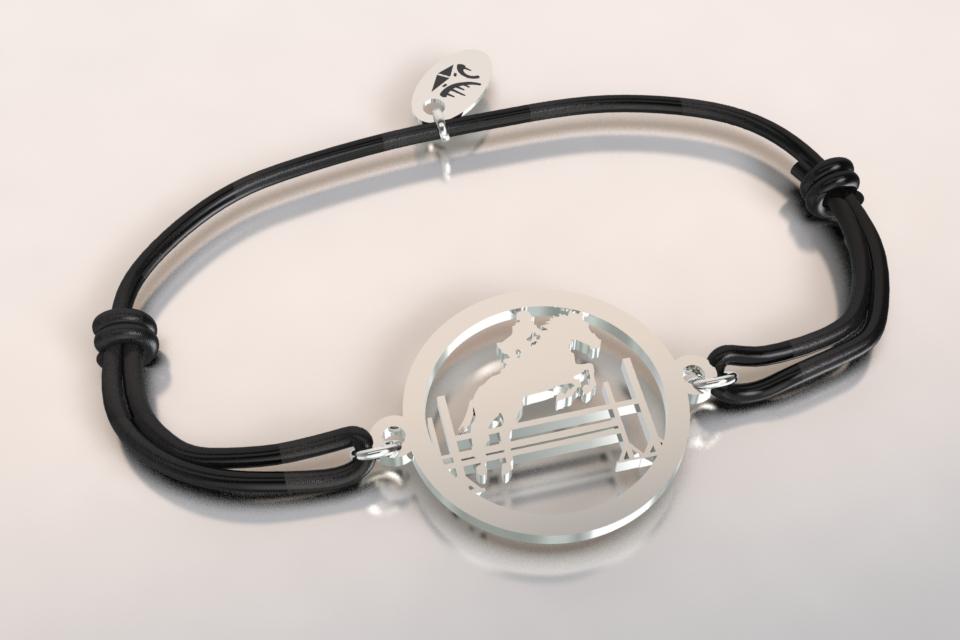 Bracelet cordon saut