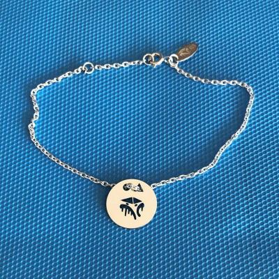 Token's - Bracelet chaine - Cabane