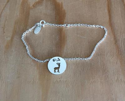 Token's - Bracelet chaine - Cerf