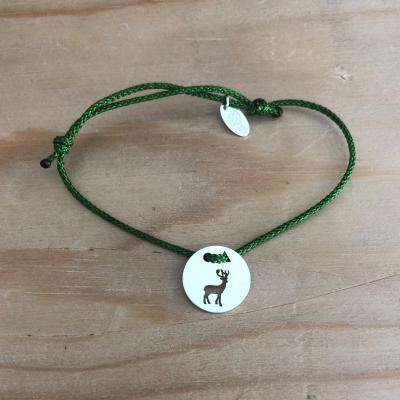 Token's - Bracelet cordon - Cerf
