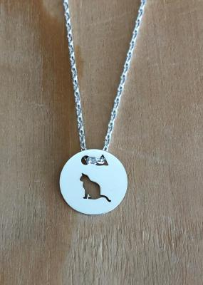 Token's - Collier - Chat assis