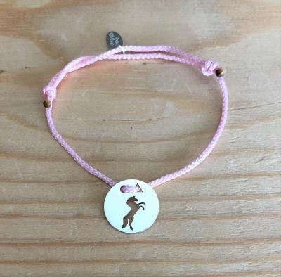 Token's - Bracelet cordon - Cheval cabré