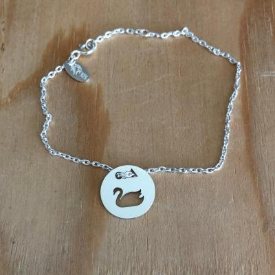 Token's - Bracelet chaine - Cigne