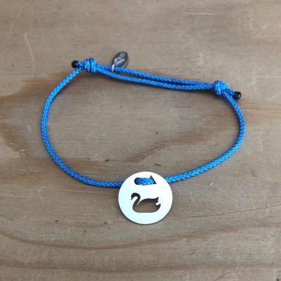 Token's - Bracelet cordon - Cigne