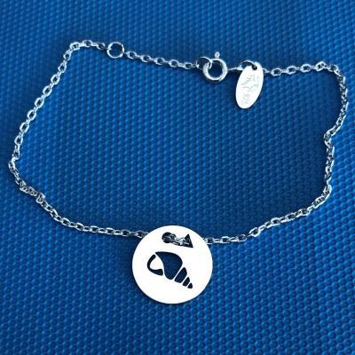Token's - Bracelet chaine - Coquillage