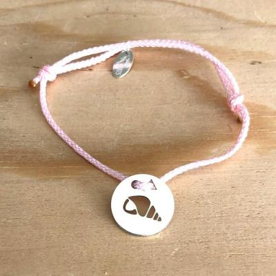 Token's - Bracelet Cordon - Coquillage