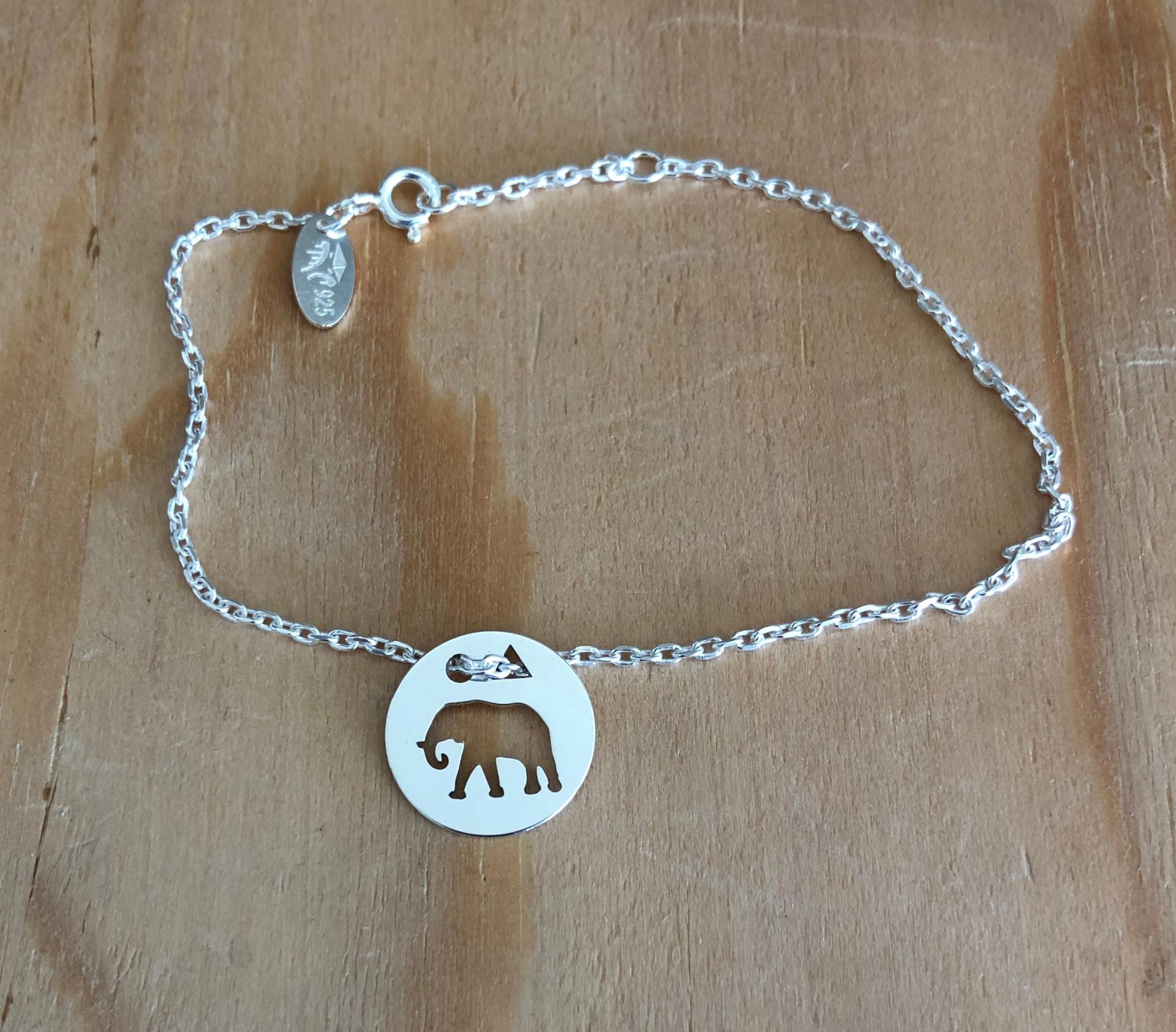 Elephant brac chaine