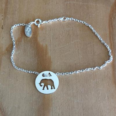 Token's - Bracelet chaine - Eléphant