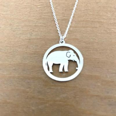 Collier en Argent 925 - Eléphant
