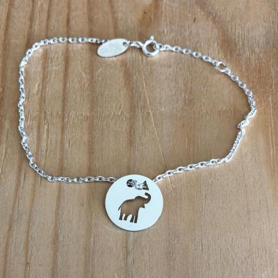 Token's - Bracelet chaine - Eléphanteau