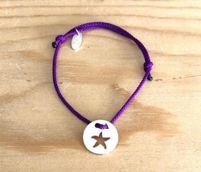 Token's - Bracelet Cordon - Etoile de Mer