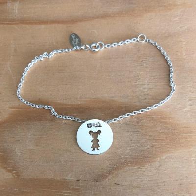 Token's - Bracelet chaine - Petite fille