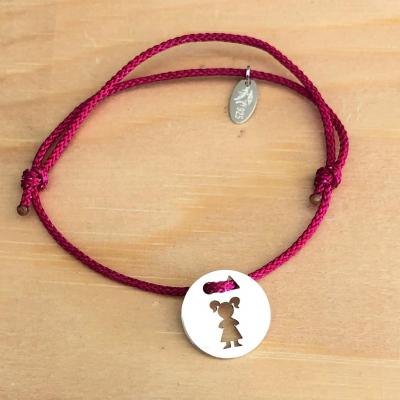Token's - Bracelet cordon - Petite fille