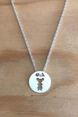 Token's - collier - Petite fille