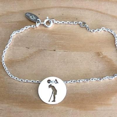 Token's - Bracelet chaine - Golfeuse putting