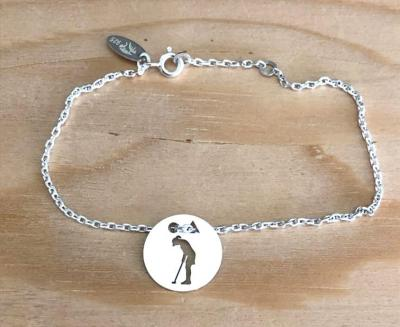 Token's - Bracelet chaine - Golfeuse putting