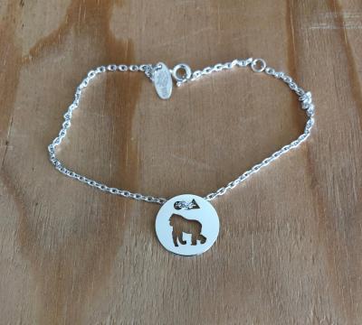 Token's - Bracelet chaine - Gorille