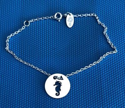 Token's - Bracelet chaine - Hippocampe