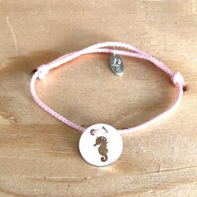 Token's - Bracelet Cordon - Hippocampe