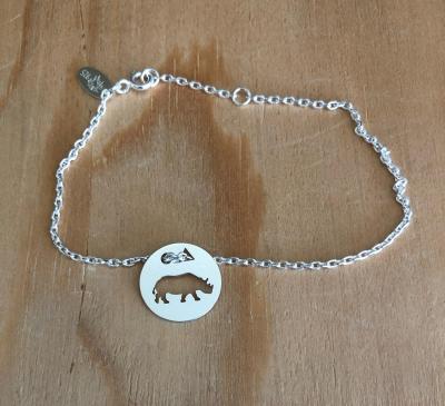 Token's - Bracelet chaine - Hippopotame
