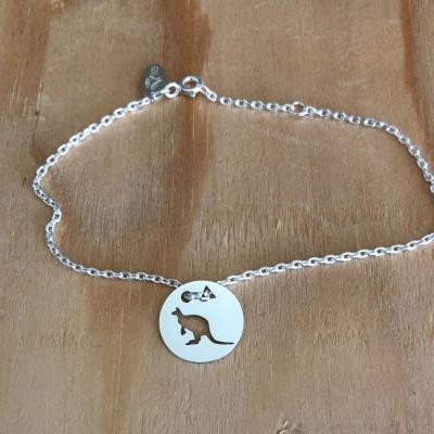 Token's - Bracelet chaine - Kangourou
