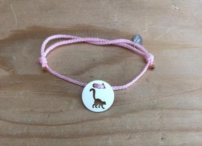 Token's - Bracelet cordon - Lémurien