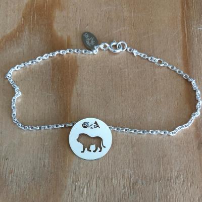 Token's - Bracelet chaine - Lion