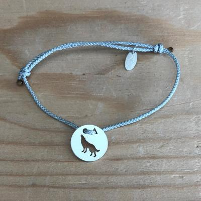 Token's - Bracelet cordon - Loup