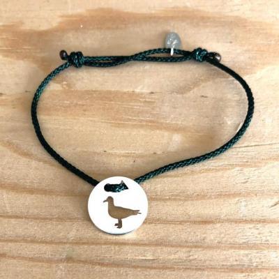 Token's - Bracelet Cordon - Mouette
