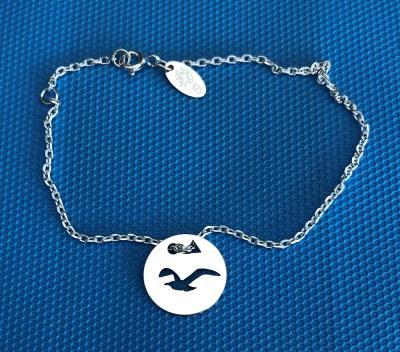 Token's - Bracelet chaine - Mouette en Vol