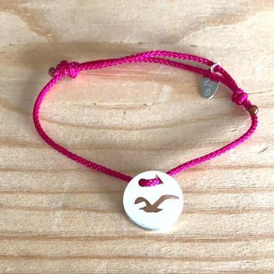 Token's - Bracelet Cordon - Mouette en vol