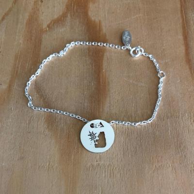 Token's - Bracelet chaine - Panda
