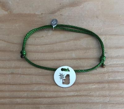 Token's - Bracelet cordon - Panda