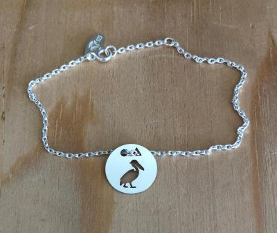 Token's - Bracelet chaine - Pélican
