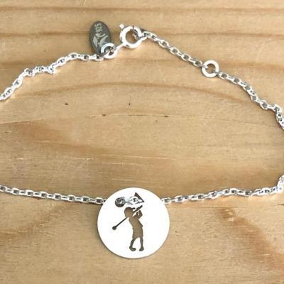 Token's - Bracelet chaine - Petit Golfeur