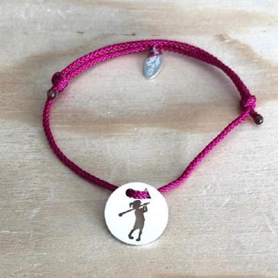 Token's - Bracelet cordon - Petite Golfeuse