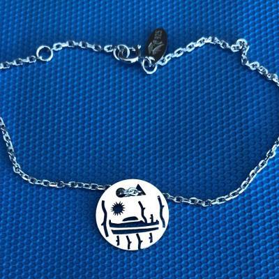 Token's - Bracelet chaine - Pinasse