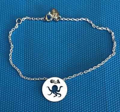 Token's - Bracelet chaine - Poulpe