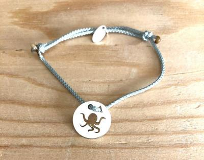 Token's - Bracelet Cordon - Poulpe